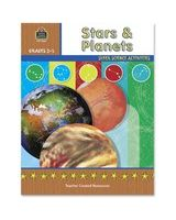 Teacher Created Resources Grade 2-5 Stars/Planets Book Education Printed Book for Science - English - Softcover - 48 Pages