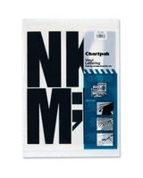 "Chartpak 01184 Press-On Uppercase Letter - 38 Capital Letters - Self-adhesive - 6"" Height - Black - Vinyl"