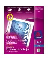 "Avery Super Heavyweight Reference Sheet Protectors - 10 x Sheet Capacity - For Letter 8.50"" x 11"" Sheet - Clear - Polypropylene - 50 / Box"