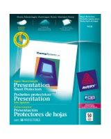 "Avery Diamond Clear Top Loading Sheet Protector - For Letter 8.50"" x 11"" Sheet - Clear - Polypropylene - 50 / Box"