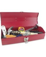 Great Neck 16-piece Tool Box Set - Red