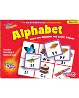 Trend Match Me Alphabet Game - Educational - 1 to 8 Players