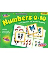 Trend Numbers 0-10 Match Me Games - Educational - 1 to 8 Players