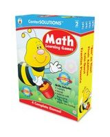 CenterSOLUTIONS Grade 2 Math Learning Games - Math - 2 to 4 Players