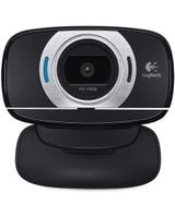 Logitech C615 Webcam - 2 Megapixel - 30 fps - Black - USB 2.0 - 1 Pack(s) - 8 Megapixel Interpolated - 1920 x 1080 Video - Auto-focus - Widescreen - Microphone