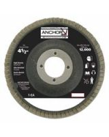 "Anchor Brand 102-41344 4-1/2"" 29 Angled 7/8 Ah40Z Flap Disc (1 BX)"