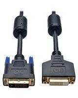 Tripp Lite 6ft DVI Dual Link Extension Cable Digital TMDS Shielded DVI-D M/F 6' - (DVI-D M/F) 6-ft.