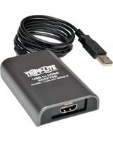 Tripp Lite USB 2.0 to HDMI Dual Multi-Monitor External Graphics Card Adapter 1080p 60Hz - 128 MB SDRAM - 1920x1200,1080P""