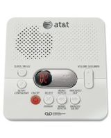 AT&T Digital Answering System w/60 Min Record Time - 1 Hour Digital - White
