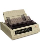 Oki MICROLINE 320 Turbo Dot Matrix Printer - 9-pin - 435 Mono - 240 x 216 dpi - USB - Parallel - Serial