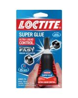 Loctite Super Glue Ultra Control Liquid - 0.141 oz - 1 Each - Clear