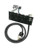Tripp Lite - SUPDM12 Power Backplate - 1, 2, 10 x NEMA L6-30R, NEMA L6-20R, NEMA 5-15/20R 30A