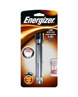 Energizer 5 LED Metal Flashlight - AA - AluminumBody - Silver