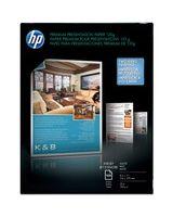 "HP Premium Presentation Paper - Letter - 8.50"" x 11"" - 32 lb Basis Weight - Matte, Smooth - 100 Sheet - Bright White"