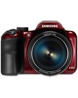 "Samsung WB1100F 16.2 Megapixel Compact Camera - Red - 3"" LCD - 16:9 - 35x Optical Zoom - 2x - Optical, Digital (IS) - 4608 x 3456 Image - 1280 x 720 Video - HD Movie Mode - Wireless LAN"
