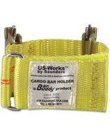 Saunders Cargo Bar Holder - 10000 lb Load Capacity - Yellow - Polyester