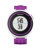 Garmin GPS Fitness Watch/Heart Rate Monitor - Wrist - White - Health & Fitness