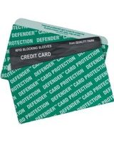 Quality Park Card Sleeve - Green - Card Stock