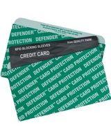 Quality Park Card Sleeve - Green - Card Stock