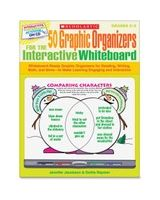Scholastic 50 Graphic Organizers for the Interactive Whiteboard - Academic Training Course - English - CD