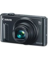 "Canon PowerShot SX610 HS 20.2 Megapixel Compact Camera - Black - 3"" LCD - 16:9 - 18x Optical Zoom - 4x - Optical (IS) - TTL - 5184 x 3888 Image - 1920 x 1080 Video - HDMI - PictBridge - HD Movie Mode - Wireless LAN"