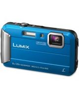 "Panasonic Lumix TS30 16 Megapixel Compact Camera - Blue - 2.7"" LCD - 16:9 - 4x Optical Zoom - 4x - Optical (IS) - 1280 x 720 Video - HD Movie Mode"