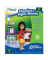 Mead Phonics/Sight Words Grade 1 Workbook Education Printed Book - Book - 64 Pages