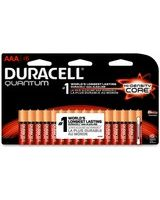 Duracell 2400 Series Quantum AAA Batteries - AAA - Alkaline - 1.5 V DC - 16 / Pack