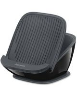 "Innovative suction technology secures stand to solid surfaces - 3.4"" x 5"" x 5.8"" - 1 Each - Black, Gray"