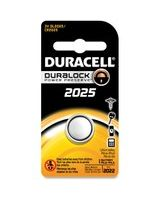 Duracell 2025 Coin Button Battery - CR2025 - Lithium (Li) - 3 V DC - 1 Each