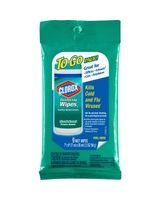 """Clorox Disinfecting Wipes Pack - Ready-To-Use Wipe - Fresh Scent - 7"""" Width x 8"""" Length - 9 / Packet - 216 / Carton - White"""