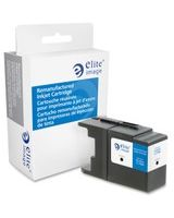 Elite Image Remanufactured Ink Cartridge - Alternative for Brother (LC79BK) - Black - Inkjet - 2400 Page - 1 Each