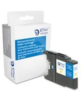 Elite Image Remanufactured Ink Cartridge - Alternative for Brother (LC79Y) - Yellow - Inkjet - 1200 Page - 1 Each