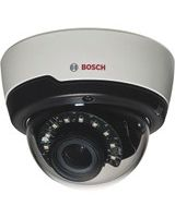 Bosch FLEXIDOME IP 5 Megapixel Network Camera - 1 Pack - Color, Monochrome - 49.21 ft - H.264, Motion JPEG - 2592 x 1944 - 3 mm - 10 mm - 3.3x Optical - CMOS - Cable - Dome, Wall Mount, Surface Mount, Pole Mount, Ceiling Mount, Flush Mount