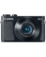 "Canon PowerShot G9 X 20.2 Megapixel Compact Camera - Black - 3"" Touchscreen LCD - 16:9 - 3x Optical Zoom - 4x - Optical (IS) - TTL - 5472 x 3648 Image - 1920 x 1080 Video - HDMI - PictBridge - HD Movie Mode - Wireless LAN"