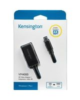 Kensington DisplayPort/HDMI Audio/Video Adapter - DisplayPort Digital Audio/Video - HDMI Digital Audio/Video