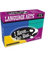 Teacher Created Resources I Have, Who Has Language Arts Game Grade 3-4 - Educational