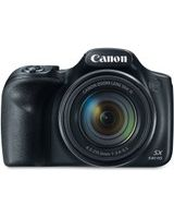 "Canon PowerShot SX540 HS 20.3 Megapixel Compact Camera - Black - 3"" LCD - 16:9 - 50x Optical Zoom - 4x - Optical (IS) - TTL - 5184 x 3888 Image - 1920 x 1080 Video - HDMI - PictBridge - HD Movie Mode - Wireless LAN"
