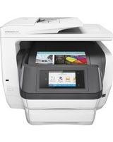 "HP Officejet Pro 8740 Inkjet Multifunction Printer - Color - Plain Paper Print - Desktop - Copier/Fax/Printer/Scanner - 36 ppm Mono/36 ppm Color Print - 2400 x 1200 dpi Print - 1 x Input Tray 250 Sheet, 1 x Output Tray 150 Sheet - 4.3"" Touchscreen - 1200"