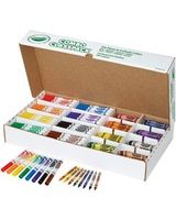 Crayola Crayon/Marker Set - Assorted Ink - Assorted Wax - 256 / Carton