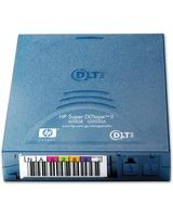 HP Super DLTtape II Tape Cartridge - Super DLTtape II - 300 GB (Native) / 600 GB (Compressed) - 2066 ft Tape Length - 1 Pack