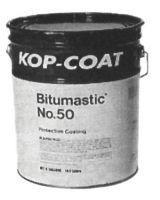 Bitumastic 107-50-1 #50 Protective Coating Compound (4 GAL)