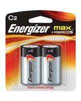Energizer E93BP-2 C Size Alkaline Battery - 8350 mAh - C - Alkaline - 1.5 V DC - 2 / Pack