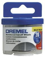 Dremel 426B Bulk Pack- Reinforced Cut-Off Wheels (20Pc.)