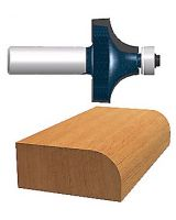 "Bosch Power Tools 85293M 3/16"" Ct Roundover Router Bit 2-Flutes Ba"