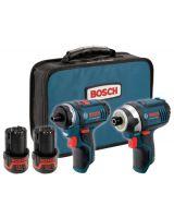 Bosch Power Tools CLPK27-120 12 Max Two Tool Combo Kit (Ps21 &Ps41)