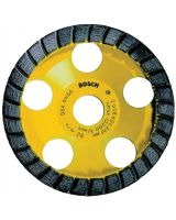 "Bosch Power Tools DC530 5"" Diamond Cup Wheel-Granite/Building Material"