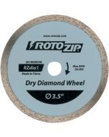 Rotozip 114-Rzdia1 Dry Diamond Zip Wheel For Ceramic Tile 1 Pack (1 EA)