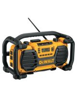 Dewalt DC012 Worksite Charger/Radio -Dc012