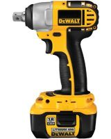 Dewalt DC822KL Heavy-Duty 1/2 18V Cordless Impact Wrench W/Nano